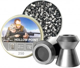 Купить Пули Borner Hollow Point кал. 4,5 0,58 гр. 250шт.