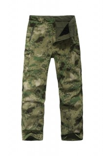 Купить Брюки Shark Skin Soft Shell, HDT-camo FG с флисом